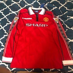 Men's Manchester United David Beckham jersey